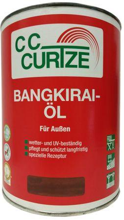 CC Curtze Bangkirai Öl Hell für Außen 2,5 Liter