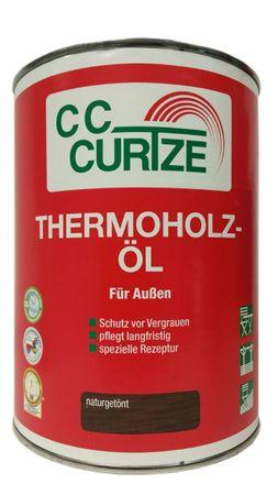 Curtze Thermoholz Öl Natur Getönt für Außen 2,5 Liter