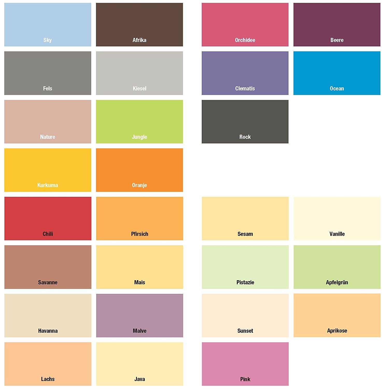 Meffert Farbige Wande Dispersionsfarbe Fur Innen Matt Farbwahl 1 Liter