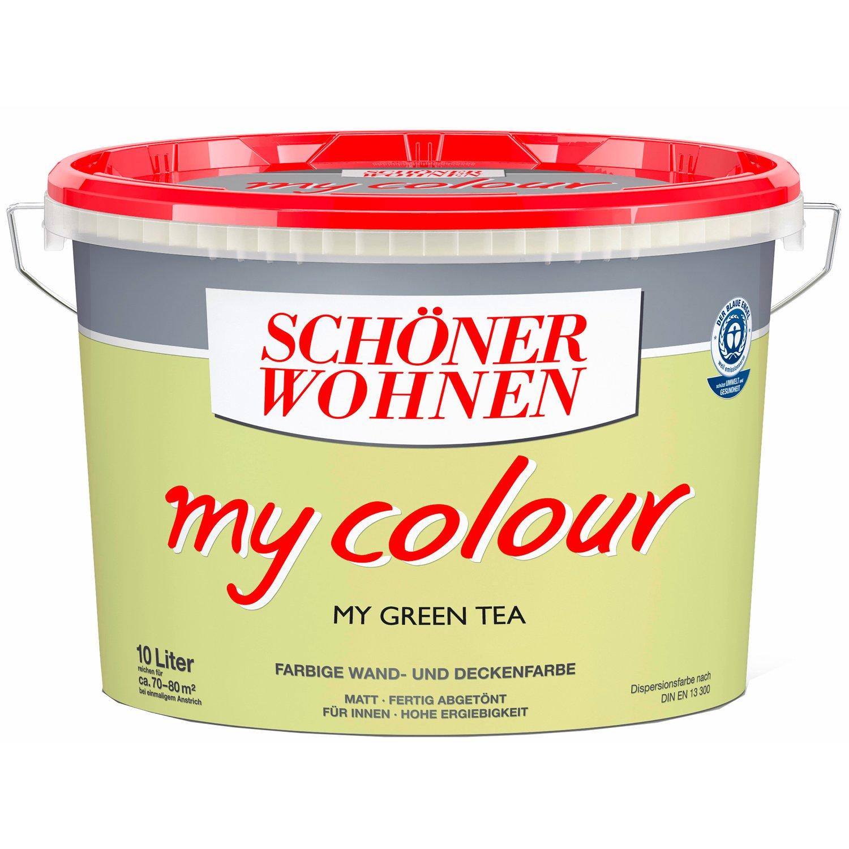 Schöner Wohnen my Color, Wandfarbe Matt 10 L farbwahl