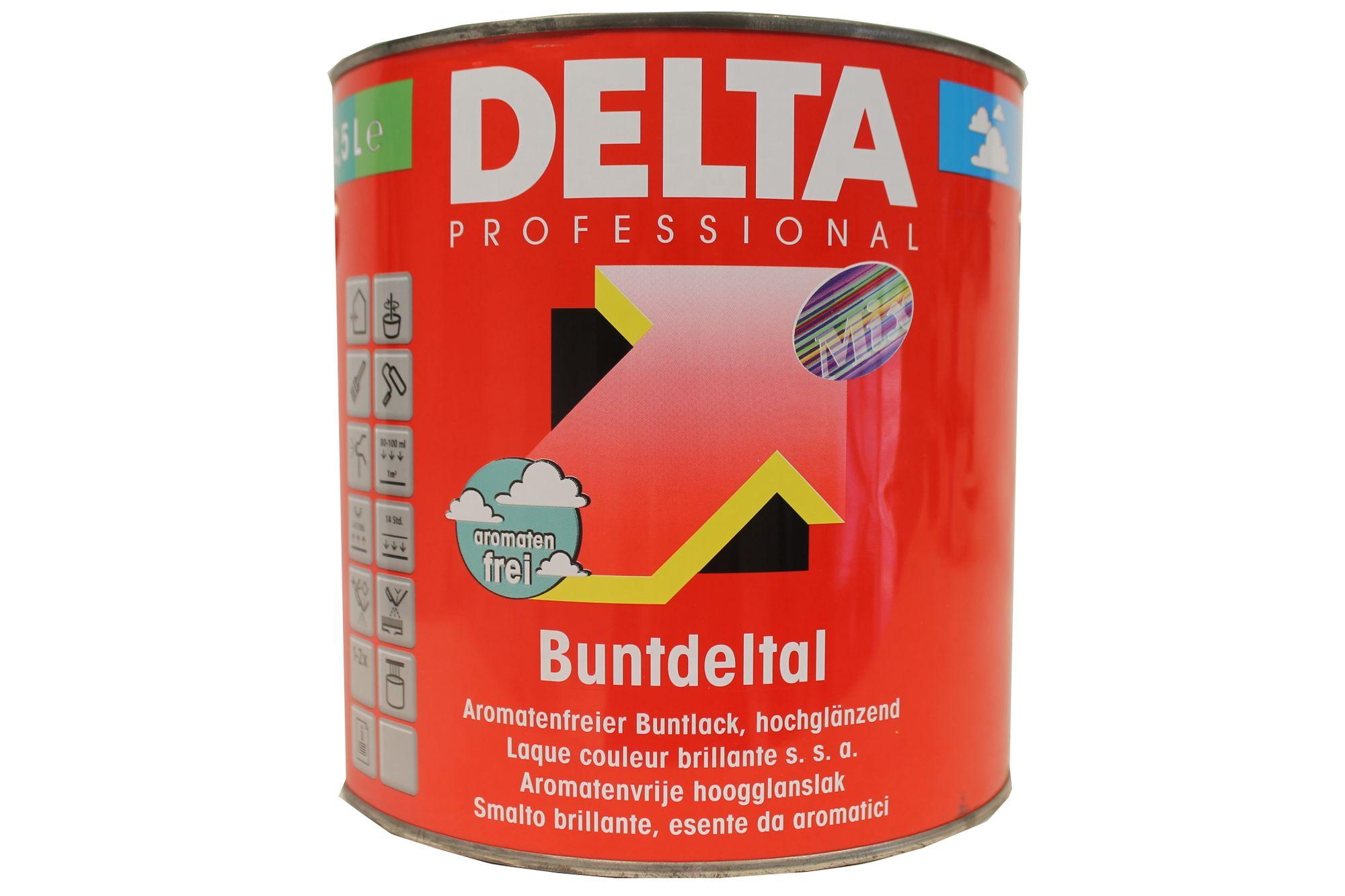 DELTA Professional Buntdeltal-Mix hochglänzend 2,5 Liter Farbwahl