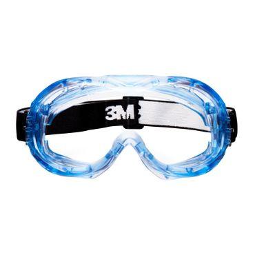 3M Fahrenheit PC AS/AF Vollsichtschutzbrille mit Nylon Kopfband