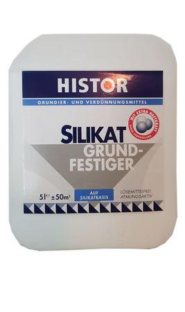 Histor Silikat Grundier und Verdünnüngsmittel Silikat Grundierung  5 Liter