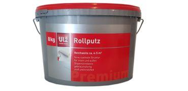 ULZ Rollputz Weiss  matt 8 Kg