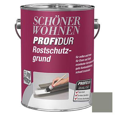 Schöner wohnen Profidur Rostschutzgrund (High-Solid) Grau Matt Außen, Innen 2,5 Liter