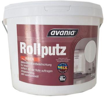 Avania Rollputz Streichputz Innen Weiss Matt 20 Kg