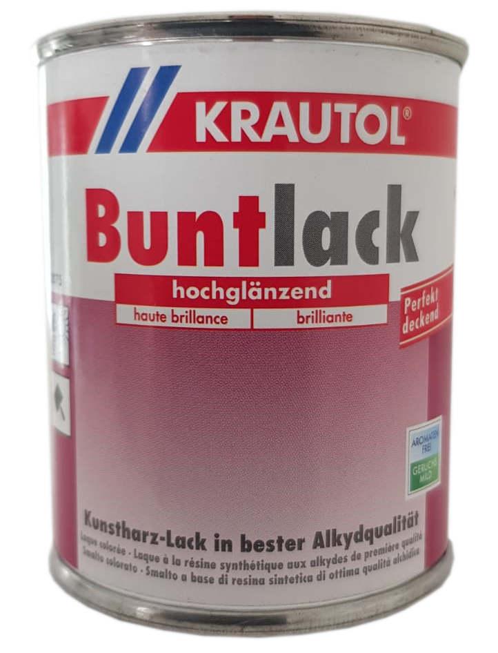 Krautol Buntlack Kunstharz Lösemittelhaltig Buntlack Hochglänzend 375 ml Farbwahl