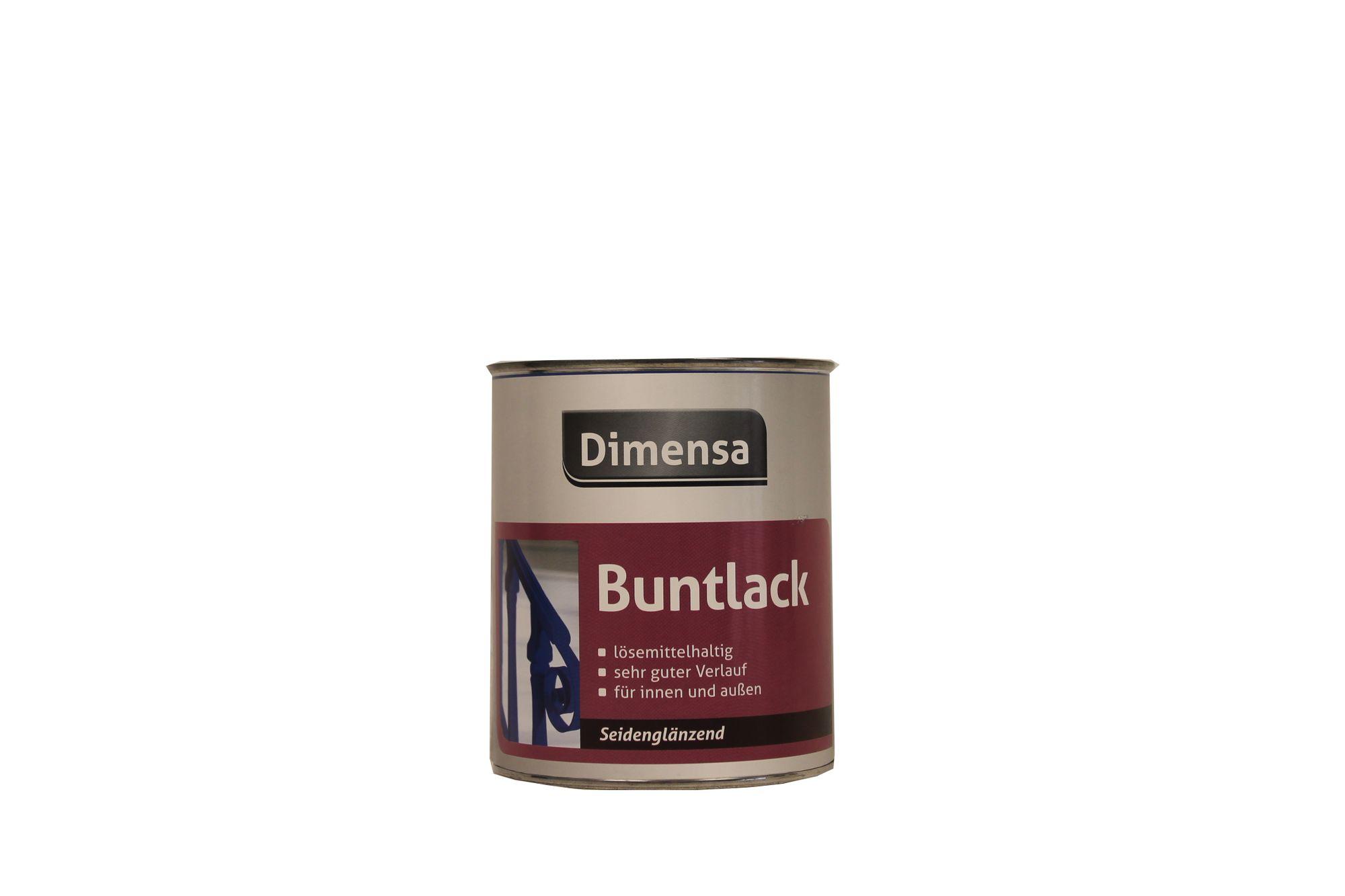 Dimensa Buntlack lösemittelhaltig  Seidenglänzend 750 ml Farbwahl