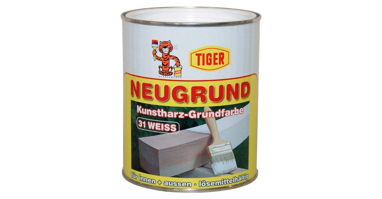 tiger neugrund kunstharz lösemittelhaltig-grundfarbe isolier-und