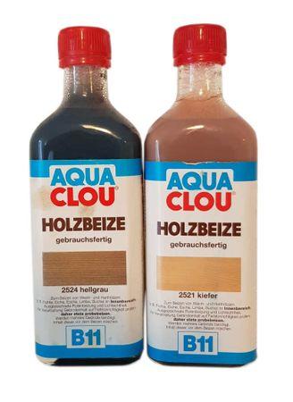 2 x 0,25 ml Aqua CLOU B11 Holzbeize 0,5 ml Farbwahl