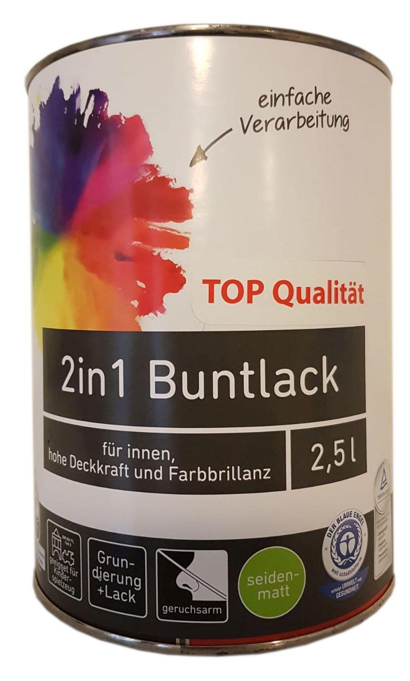 Ostendorf 2in1 Buntlack innen seidenmatt 2,5 L Farbwahl