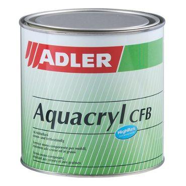 Adler Aquacryl Möbellack G100 Glänzend Farblos Innen 0,75 Liter