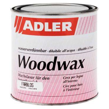 Adler Woodwax Wachslasur Farblos Tönbar Innen 2,5 Liter (leichte Beule)