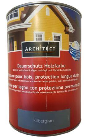 Architect Dauerschutz Holzfarbe Abperl-Effekt seidenglänzend 2,5 L Farbwahl innen&außen