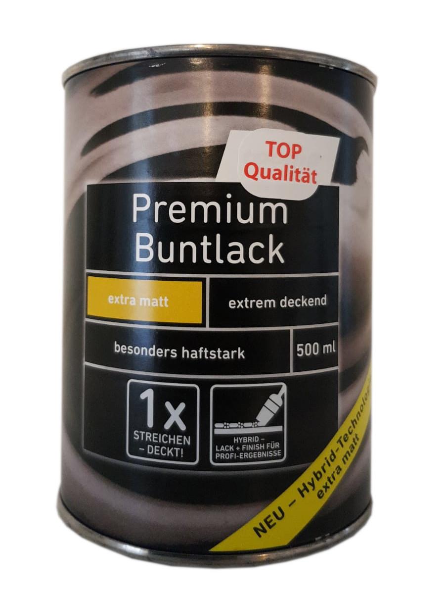 Ostendorf 2x0,5 L Premium Buntlack extra matt Farbwahl 1 L