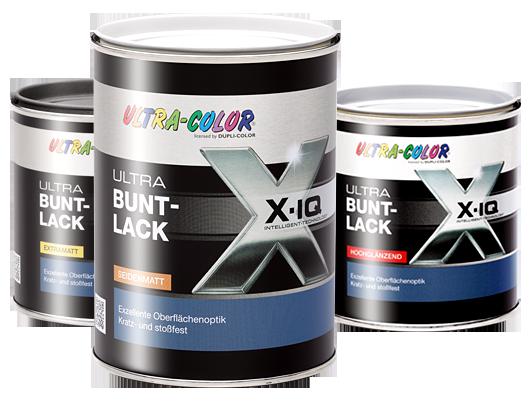 3x 0,5 L Ultra-Color Buntlack Wasserbasiert Extramatt 1,5 L Farbwahl Innen/außen