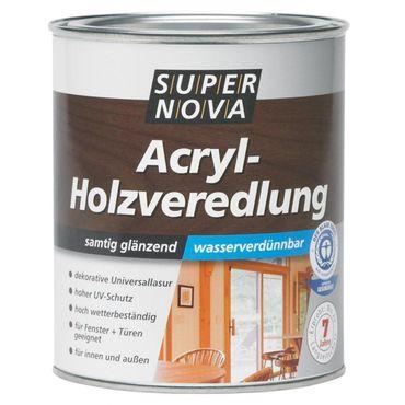SUPER NOVA AcrylHolzveredelung, teak, 2,5 Liter