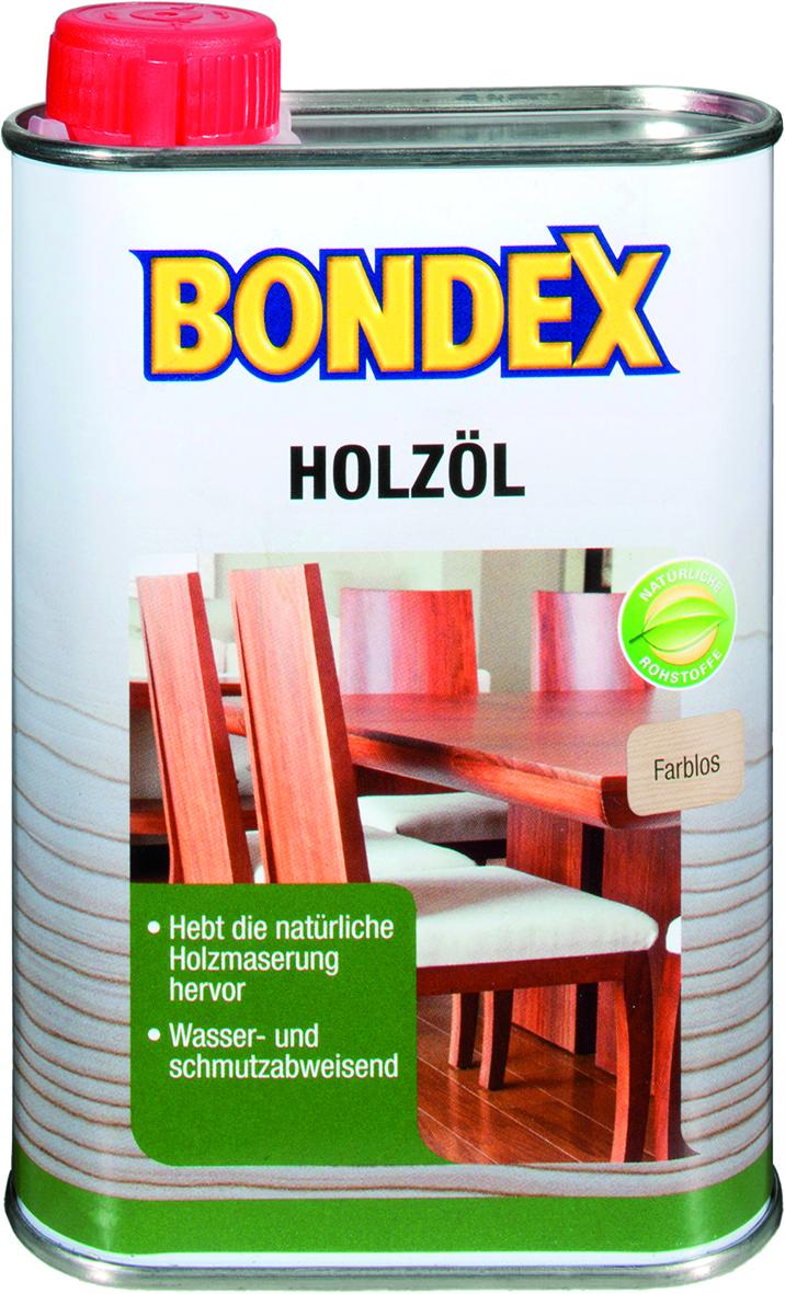 Bondex Holzöl farblos 0,25 L Farbwahl