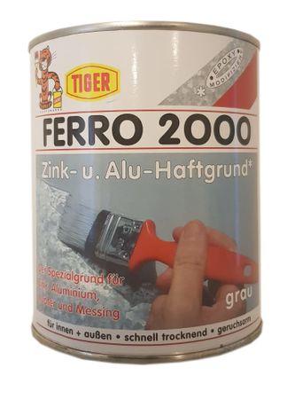 Tiger Ferro 2000 Zink- u. Alu- Haftgrund matt grau 375 ml – Bild 1