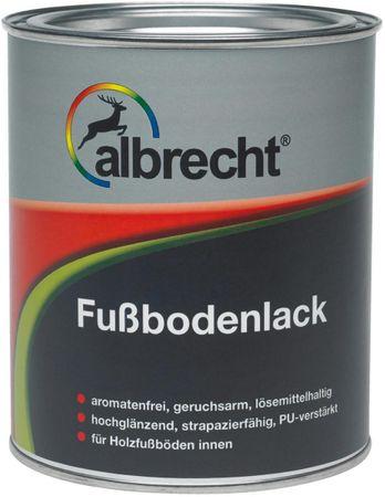 Albrecht Fußbodenlack weiß 0,75 Liter