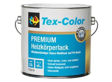 Tex-Color TC5216 PREMIUM Heizkörperlack Glanzlack  Weiß 2,5 L