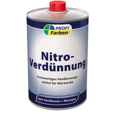 2x0,5 L Profi Farben Nitro- Verdünnung für Nitrolacke 1 Liter