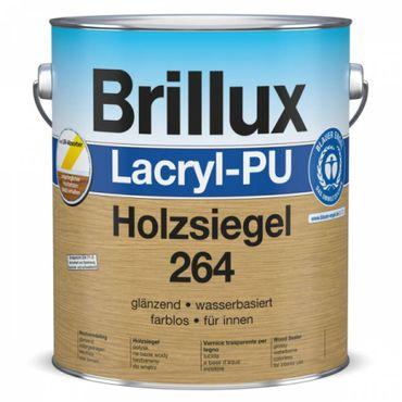 Brillux Lacryl-PU Holzsiegel 264 glänzend Farblos 375 ml