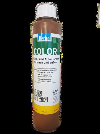 2x0,75 l Herbol Color In Vollton- und Abtönfarbe Matt Innen 1,5 Liter Farbwahl – Bild 1