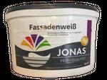 Jonas Profi Qualität  Fassadenfarbe Fassadenweiß matt 12,5 Liter 001