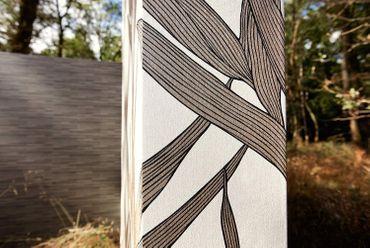 A.S. Création Vliestapete Mustertapete braun-schwarz 0,53m x 10,05m  – Bild 5