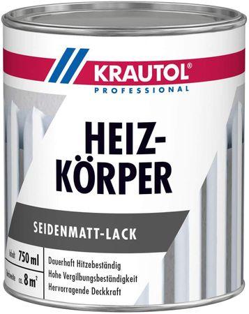 Krautol Heizkörper Seidenmatt-Lack weiß 0,75