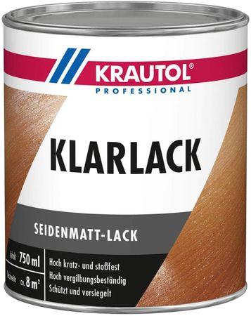 Krautol Acryl-Klarlack Seidenmatt 0,75 L
