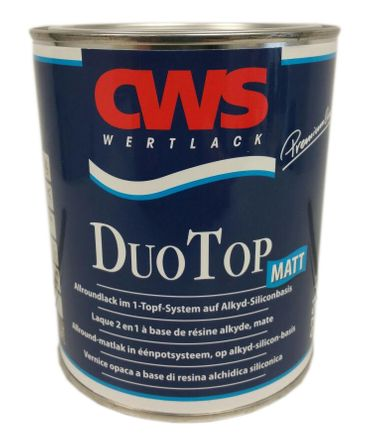 CWS CD Color Duo Top Matt Allroundlack  Weiß Lack 750 ml