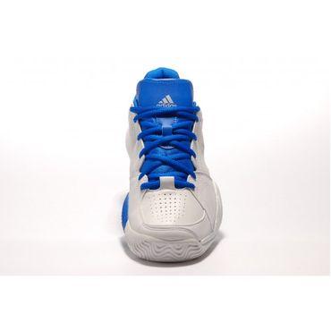 adidas Ambition VIII Logo V23278 Herren Tennisschuhe Laufschuhe Weiß Blau  – Bild 3