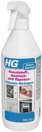 3 x 0,75 L HG Kunststoff-, Anstrich- und Tapeten- Intensiv Reiniger 2,25 L