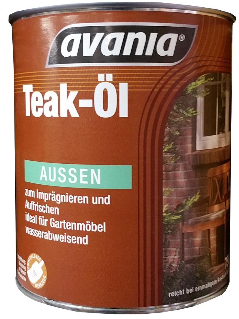 Avania Teak-Öl Farblos Aussen 2,5 Liter