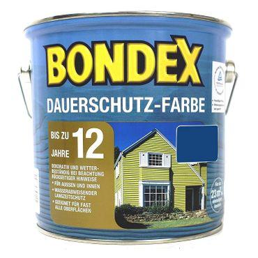 Bondex Dauerschutz-Farbe innen & außen Seidenglänzend 0,75 L Farbwahl