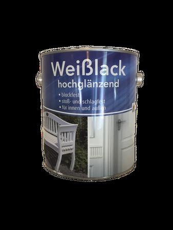 Meffert Weißlack hochglänzend Innen/Außen 2 Liter (Beule)