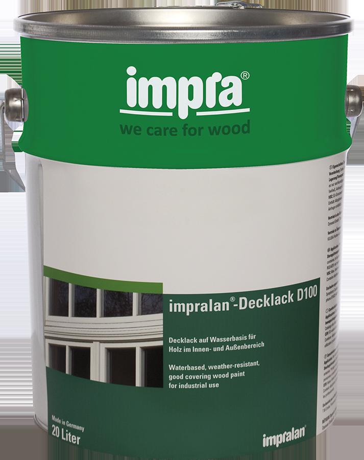 Impra Impralan Deckfarbe D110 Wasserbasierend Seidenglänzend Innen/außen 20 L Farbwahl