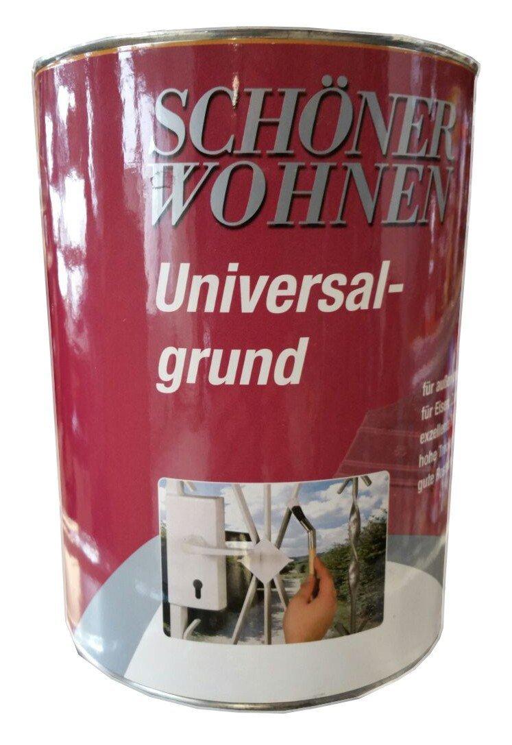 Schöner Wohnen Alkydharz Universal-grundierung 7106 grau 2,5 L (Beule)
