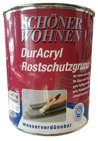 Schöner Wohnen duracryl Rostschutzgrund 7106 Grau 750 ml