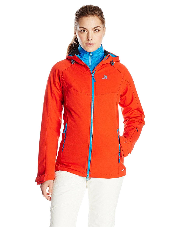 Salomon Damen Winter Snowboard Jacke Snowtrip Premium 3:1 Jacket Gr Wählbar