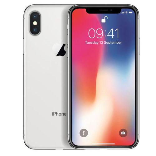 Apple iPhone X (A1901) Silver - ohne Simlock (B-Ware)