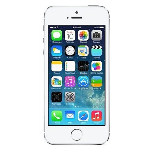 Apple iPhone 5s - silver - ohne Simlock B-Ware