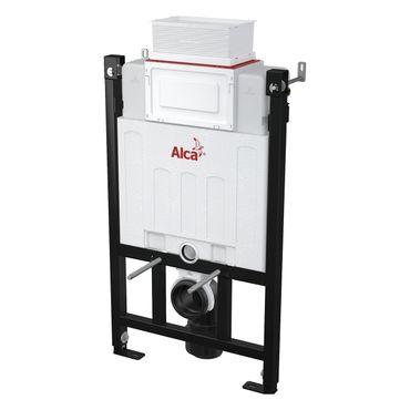AlcaPlast AM118 WC Montageelement | Unterputzspülkasten zur Wandmontage | Betätigung von oben oder vorne – Bild 1