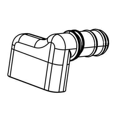AlcaPlast Perlator für Badewannen Ablaufgarnitur / Überlaufgarnitur mit Überlaufbefüllung – Bild 1