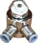 Jollytherm 10110 Aquaheat Verteiler 2-fach für Doppelrohr Warmwasser Fußbodenheizung 001