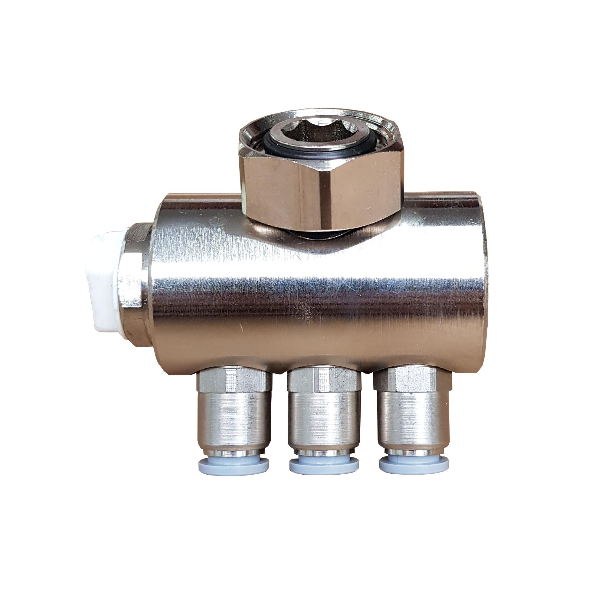 Jollytherm 10101 Aquaheat Verteilerfinger f/ür Doppelrohr Warmwasser Fu/ßbodenheizungen