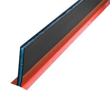 2m Dehnfugenprofil 100x10mm mit T-Steg selbstklebend | Kunststoff-Steg mit PE Kern