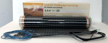 Climapor Elektro Fußbodentemperierungsfolie 0,4 mm für Parkett und Laminat 2,4 3,6m² – Bild 5